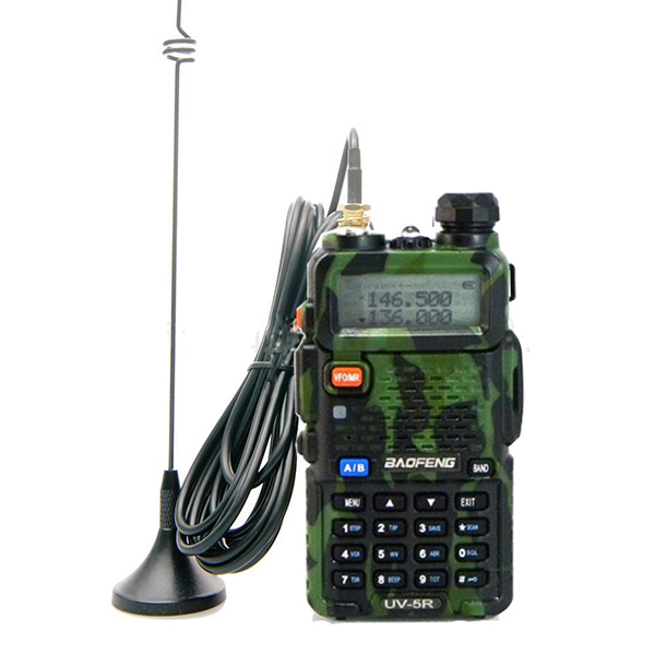 SMA-F Female Magnetic Gain Car Radio UHF VHF Ham Antenna NAGOYA UT-108UV For BAOFENG UV-5R UV-82 Wouxun Kenwood Walkie Talkie(China (Mainland))
