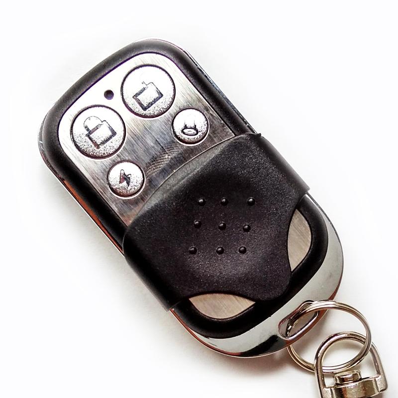 Universal garage door opener remote control channel