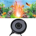 12 LED Air Curtain Stone Bubble Disk and Aquarium light 1W Colorful Bubble Lamp Submersible Light