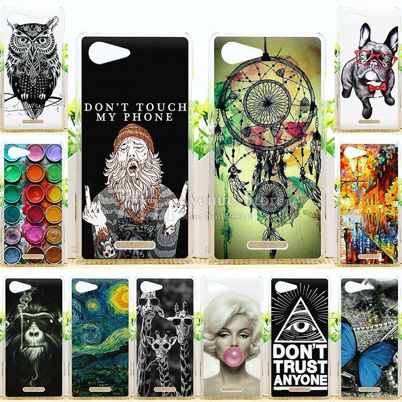New Arrival Fashion Perfect Design Case For Sony Xperia E3 Dual D2203 D2206 Back Cover For Sony E3 Phone Cases(China (Mainland))