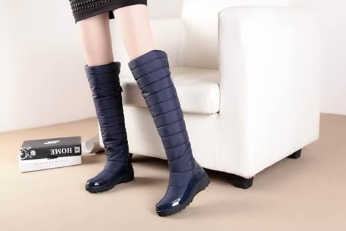 AISIMI 2015 New Arrive Keep Warm Snow Boots Fashion Platform Knee High