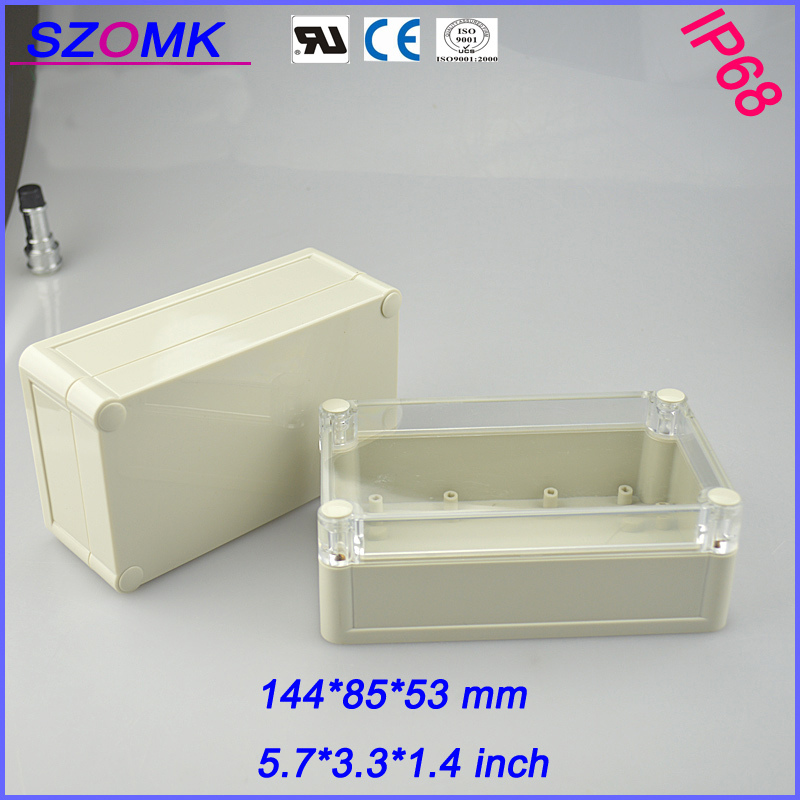 6 pieces a lot western digital enclosure 144*85*51mm 5.7*3.3*1.4 inch(China (Mainland))