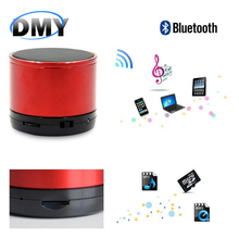 S10 Bluetooth Subwoofer Speaker Mini SD Sound Card Multi-Function Plastic Portable Wileress Speaker With FM Radio MP3 Player(China (Mainland))
