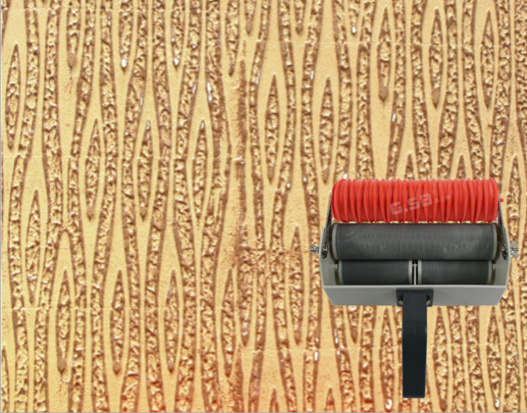 Buy wall paint tools patterned roller for for Wall painting utensils