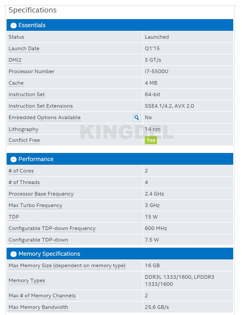 CPU Specification-1
