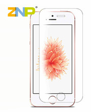 0.28mm Tempered Glass for iPhone 6 6s 4 4s 5 5s 6+ 6 plus 9H Hard 2.5D Arc Edge Round Border Screen Protector with Tools