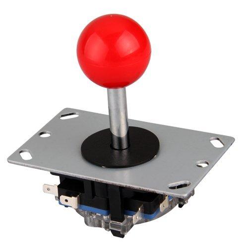 Arcade joystick DIY Joystick Red Ball 8 Way Joystick Fighting Stick Parts for Game Arcade(China (Mainland))