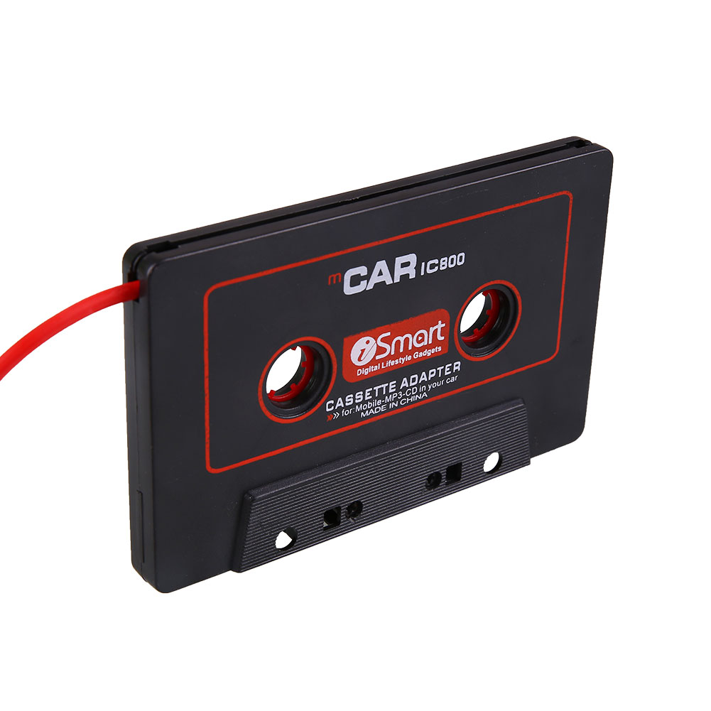 Car Audio Cassette Tape Stereo Adapter For Phone CD MD MP3/4 AUX 3.5mm Jack(China (Mainland))