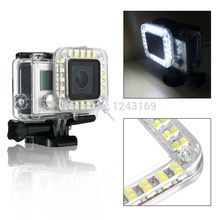 Xcsource 2015 New USB Lens Accessories LED Flash Light Fill Shooting Night for Sprot Camera for gopro Hero 3+ 4 OS246-SZ+