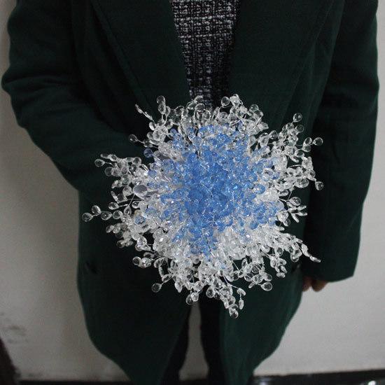 F2 ручной работы, 5 цвет синий и белый свадебный букет/кристалл buque де noiva/перл ...