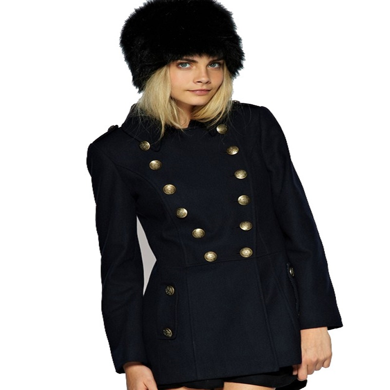 Compare Prices on Double Breasted Military Wool Coat- Online ...