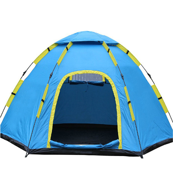 High grade 4 persons folding tent Waterproof beach tent Durable camping tent Free shipping Tent130314 1
