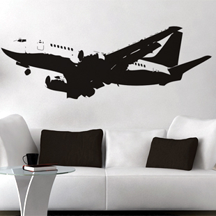 Wall stickers Home Garden Decor Vinyl Removable Art Mural decor Aviation aircraft H-151 - Stickers store