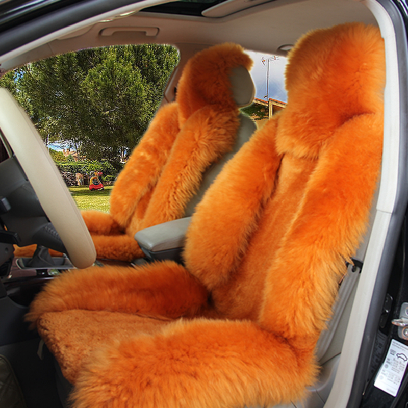winter wool cushion car race pad cushion mats seat cover Pajero Highlander cushion car plush pulvinis cruze ec7 mazda golf crv(China (Mainland))