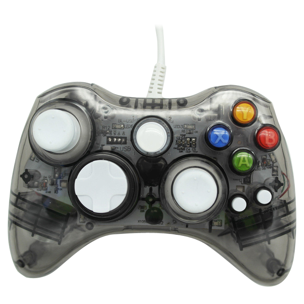 USB Wired Gaming Controller Joystick For xbox360 Gamepad Joypad Joystick PC Computer(for xbox360 style)(China (Mainland))