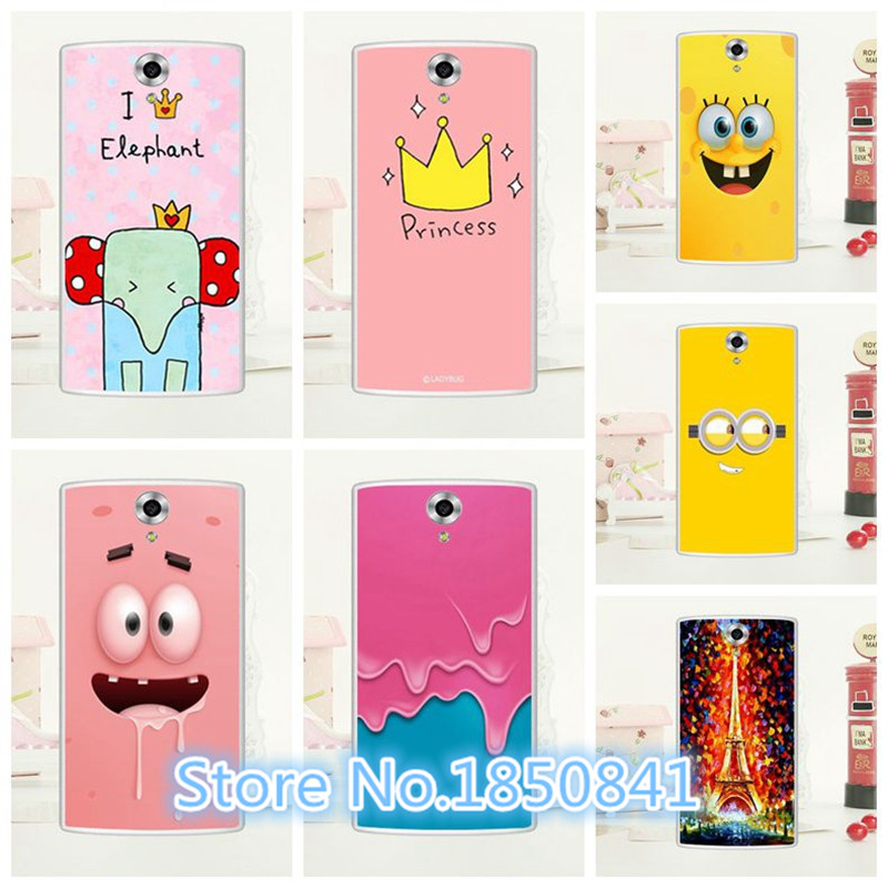 2016 Newest Luxury Soft Silicon Crown Case For Doogee Homtom HT7 Pro Fancy Colorful Drawing Case Cover For Homtom HT7 + Stylus(China (Mainland))