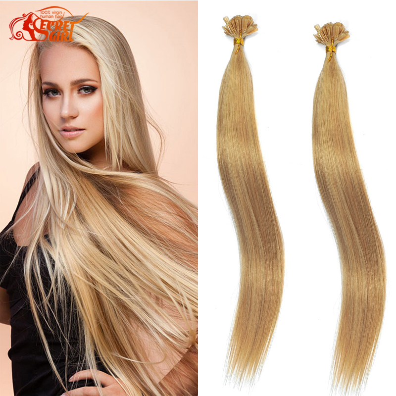 Indian Remy Nail Tip Extensions 10