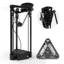 2016 Pulley 3D Printer DIY kit Injection Model Kossel Mini 3D Printer Delta Rostock