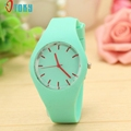 Excellent Quality OTOKY Watches Women Sports Candy Colored Jelly Silicone Strap Leisure Watch Relojes Mujer Relogio