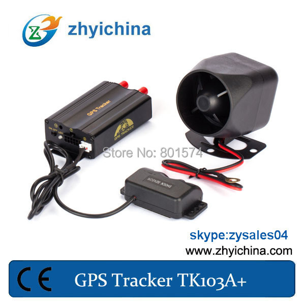 gps tracking security guards easy to install tk103A+ track people or car hot sell in America(China (Mainland))