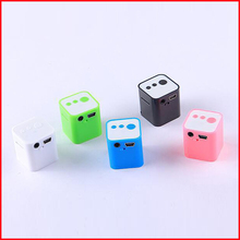 2016 New Fashion Portable Mini MP3 Player Support Card Campaign MP3 Music Player Built-in Speaker Lecteur Reproductor Mp3(China (Mainland))
