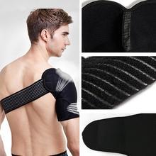 Adjustable Straps Professional sports shoulder brace support single shoulder protector for gym volleyball basketball badminton(China (Mainland))