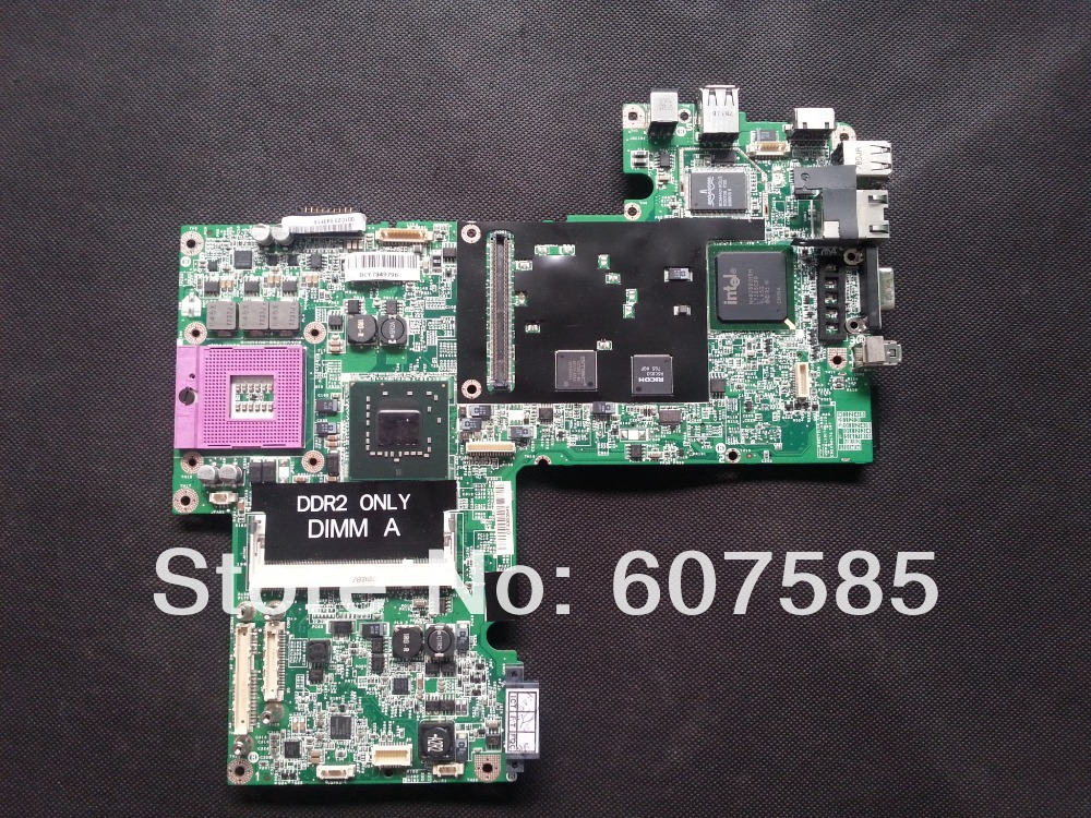 For DELL 1720 Laptop Motherboard Mainboard UK435 DDR2 100% Tested Free Shipping