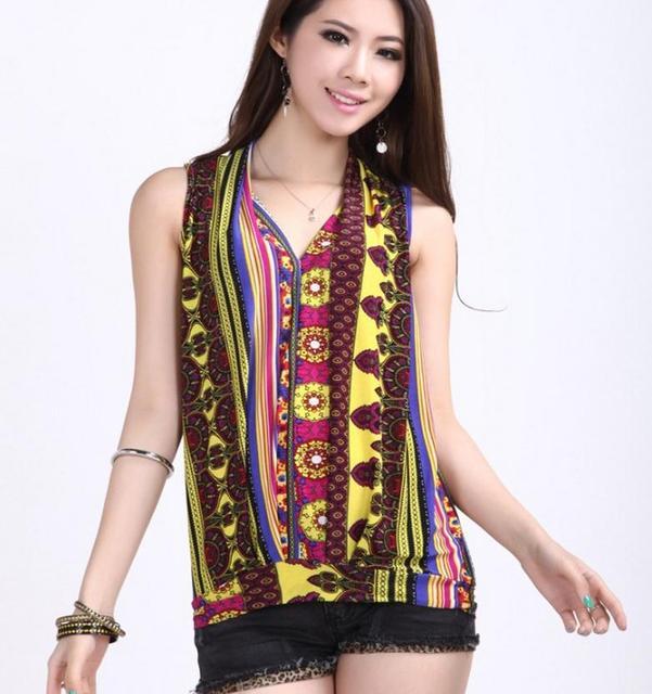 2017 New Fashion Vintage Spring Summer vest T Shirt tees Women Clothing Tops T shirt  ladies Clothes Printed Print T-shirt  girl