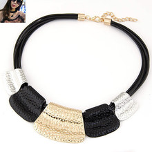 Hot Sale Maxi Necklace Colar Big Brand Collares Bib Choker Chunky Woman Necklace Vintage Statement Necklace Jewelry Wholesale(China (Mainland))