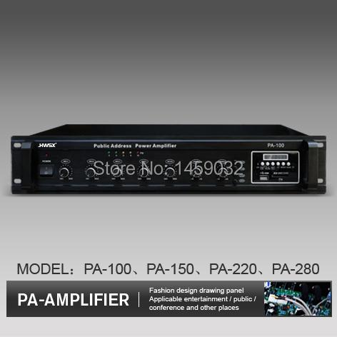 SET MEAL --PA AMPLIFIER 100w PA-100 1pcs + ABS 4  ceiling speaker TH-701 3-6W 6pcs<br><br>Aliexpress