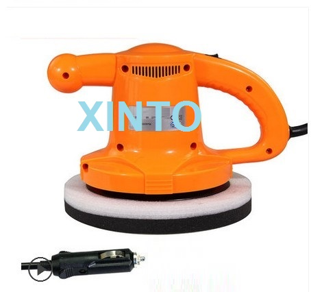 "10"" 12V 90W Auto disc polisher, car polishing machine, disc sander, floor waxing machine(China (Mainland))"