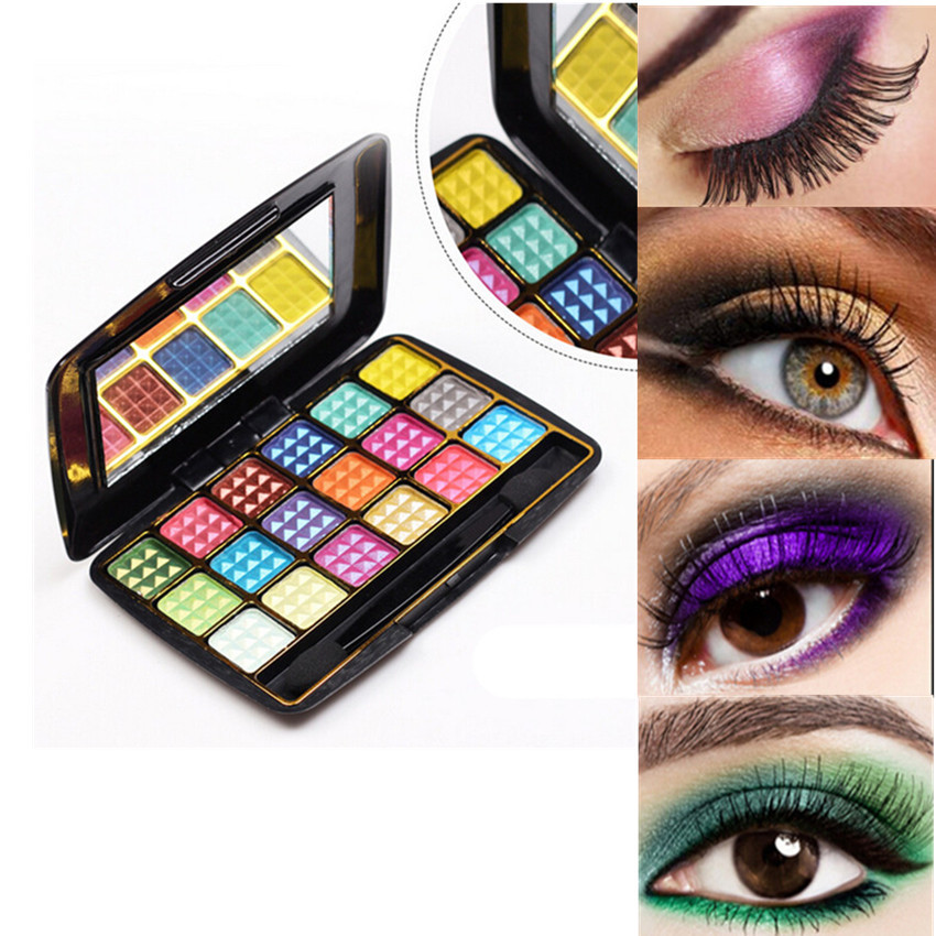 New 2015 HOT! Smoky Cosmetic 18 Colors Natural Matte Eyeshadow Makeup Palette Naked(China (Mainland))