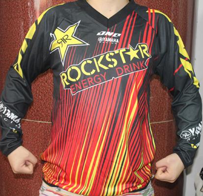 MOTOR T-sHirt-3 Motocross Moto-gp Racing shirts ATV MX Enduro Race Off Road Riding Gear Dirtbike clothes rockstar- RACETECH(China (Mainland))