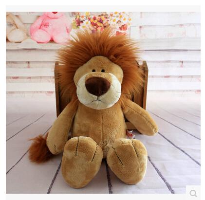 Free shipping 35cm nici lion plush doll toy stuffed animal kids doll girls birthday christmas gift(China (Mainland))
