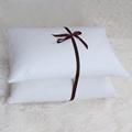 SNOWMAN Neck Health pillow100 Goose Feather 20x28inch Bed Pillows 100 Cotton Cover travesseiro bedding 2 Set