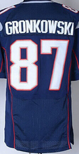 Wholesale Men's #87 Rob Gronkowski Jersey Blue White Red Cheap Rob Gronkowski Stitched Sports Jerseys Free Fast Shipping(China (Mainland))
