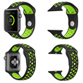 Silicon Sports Watch Band Strap for Apple Watch Nike Plus 38 42mm 1 1 Black Volt