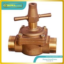 1-3 / 8 » глобальный запорный клапан для охладитель воды