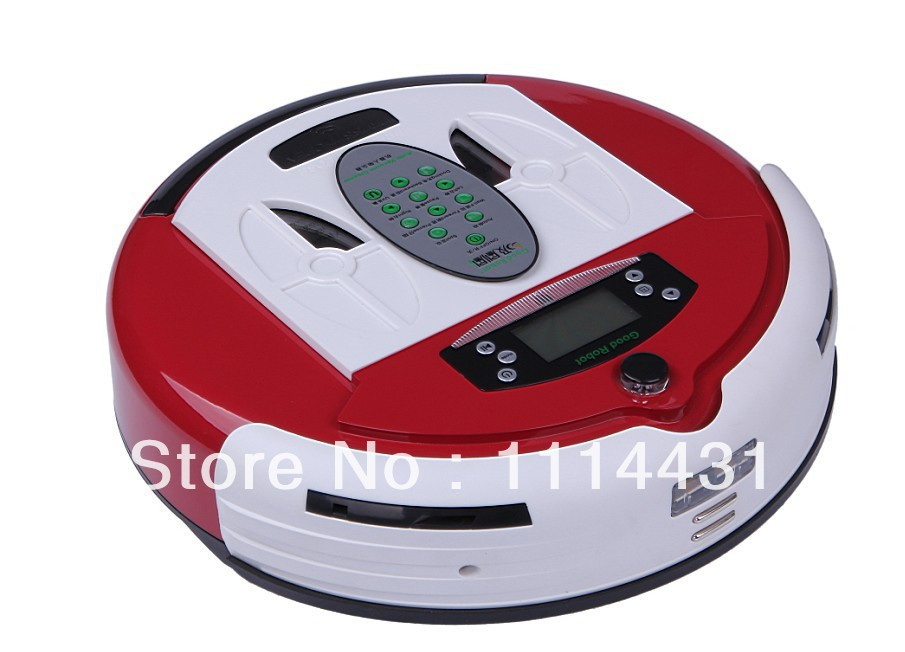 (Free to Russia)High quality robot vacuum cleaner,Direct manufacturers, Cleaning robot with 0.7L Dustbin box,Powerful Vacuuming(China (Mainland))