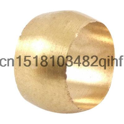 """3/8"""" x 5/16"""" Brass Pipe Olive Compression Ring Fitting Gold Tone(China (Mainland))"""