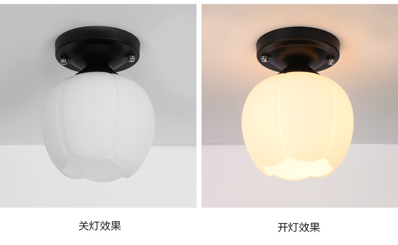 A1 Flower type The American village living room Pendant Lights study ...