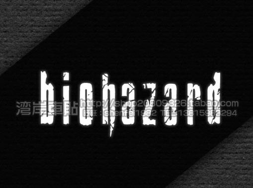 Car stickers reflective car stickers japan mark of umbrella biohazard logo of the(China (Mainland))