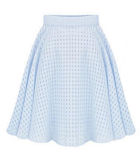 2015 Women fashion stretch waist short midi skirts new summer women skirts sexy Slim thin tutu