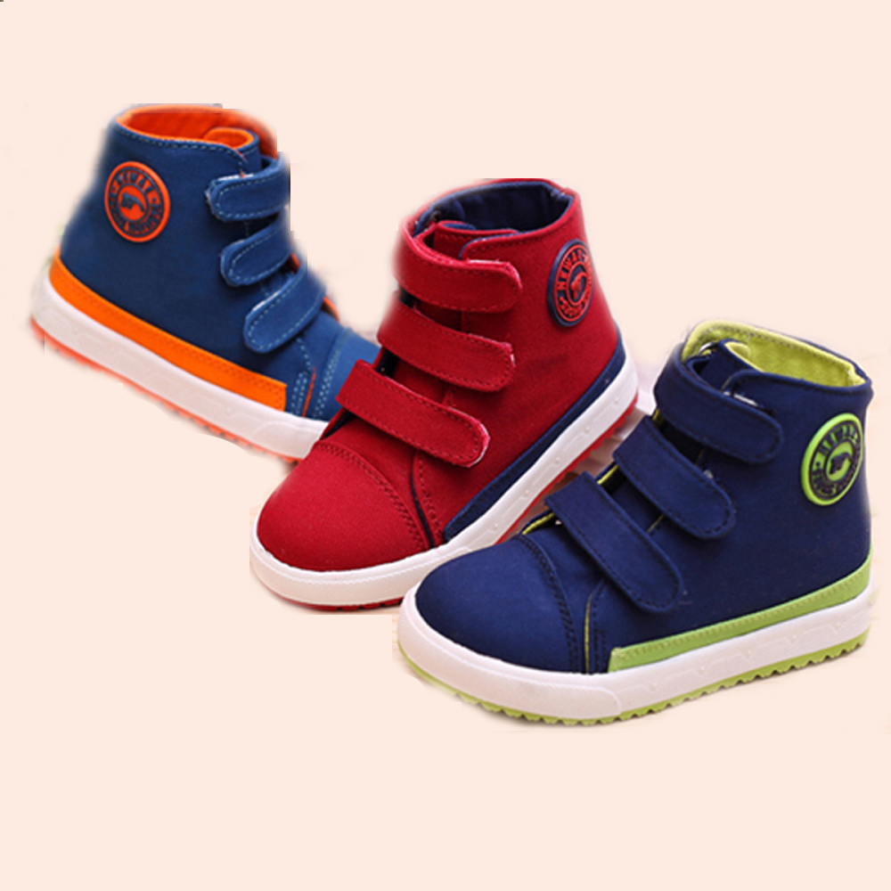 2016 Dunk high Canvas Sneakers for Baby girl Rubber sole