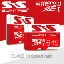 8GB 16GB TF CARD +SD transfer adapter+card reader Transflash SDHC memory card Micro SD card 32gb 64GB class 10 micro sd