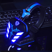 LED light gaming headphone audifonos gamer Headset,Earphone with Microphone for PC game music player,gaming headset in stock