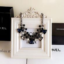 2016 New Arrival za Brand Big Luxury Statement Pendant Necklace Vintage Maxi Women Accessories Chain Collar