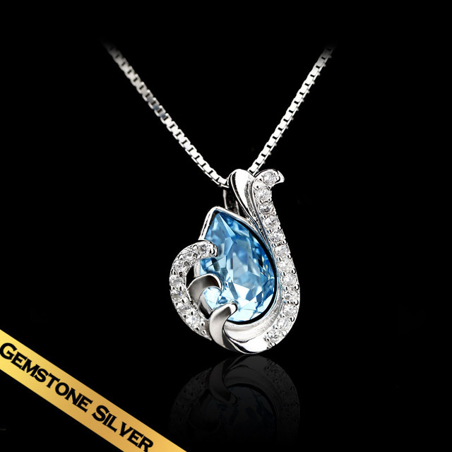 Special Choker Necklaces 925 Silver Crystal Classic Fashion Design Hot Sale Free Shipping Pendant Jewelry New Style XL13A09066