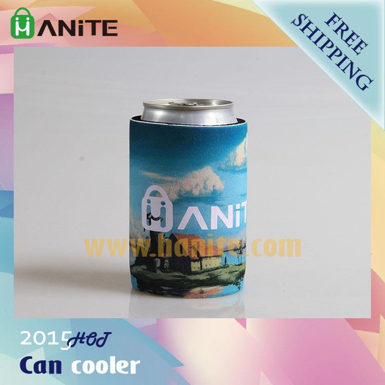 Free Shipping Neoprene bottle cooler, custom stubby holder, insulated chopeira, beer holder, thermal wine bag(China (Mainland))