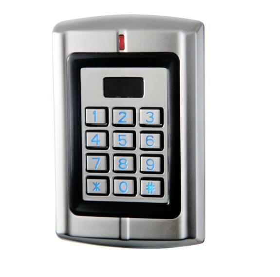 Sebury W4 waterproof Kaypad & RFID 2 Doors Standalone Access Control / Reader support 125khz HID and EM card & PIN(China (Mainland))